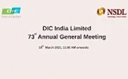 73 rd DIC India Annual General Meeting